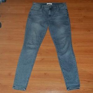 Ann Taylor loft skinny stretch ankle jeans size 26